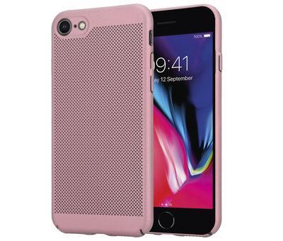 ShieldCase® ShieldCase iPhone 7 / 8 dun design hoesje (rosé goud)