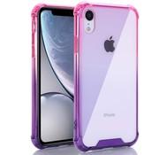 ShieldCase® Roze-Paarse Shock case iPhone Xr