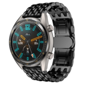 Huawei Watch GT draak stalen band (zwart)