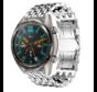 Huawei Watch GT draak stalen band (zilver)