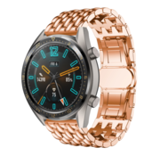 Huawei Watch GT draak stalen band (rosé goud)