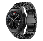 Samsung Galaxy Watch draak stalen band (zwart)