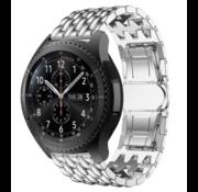 Samsung Galaxy Watch draak stalen band (zilver)