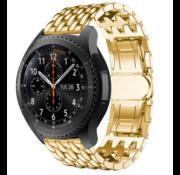 Samsung Galaxy Watch draak stalen band (goud)
