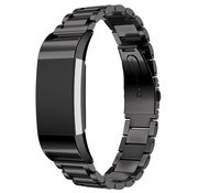 Fitbit Charge 2 stalen band (zwart)