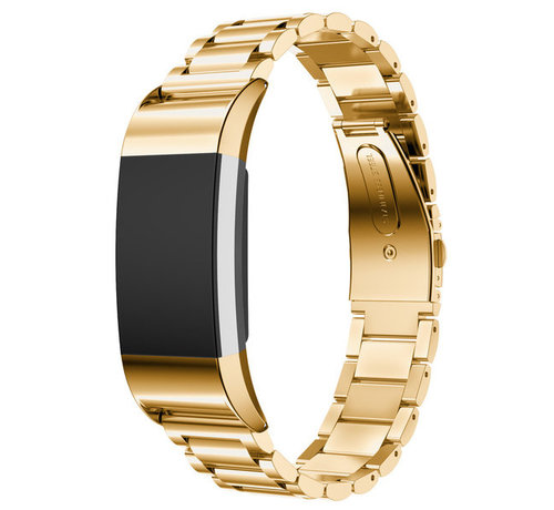 Fitbit Charge 2 stalen band (goud)