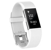 Fitbit Charge 2 siliconen bandje (wit)