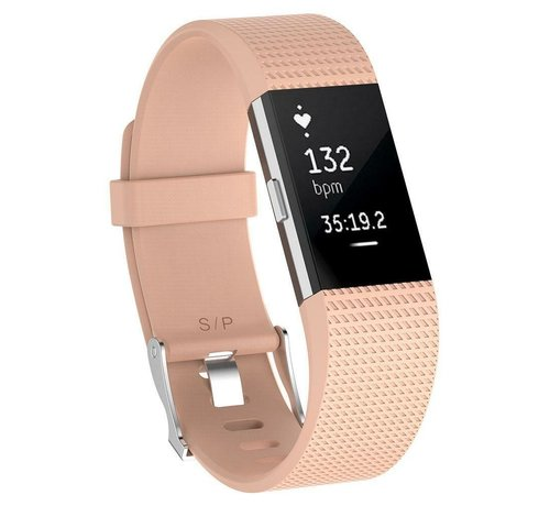 Fitbit Charge 2 siliconen bandje (roze)