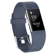 Fitbit Charge 2 siliconen bandje (grijsblauw)