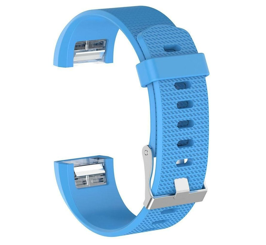 Fitbit Charge 2 siliconen bandje (blauw)
