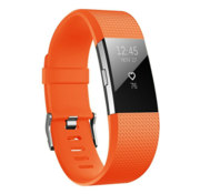 Fitbit Charge 2 siliconen bandje (oranje)
