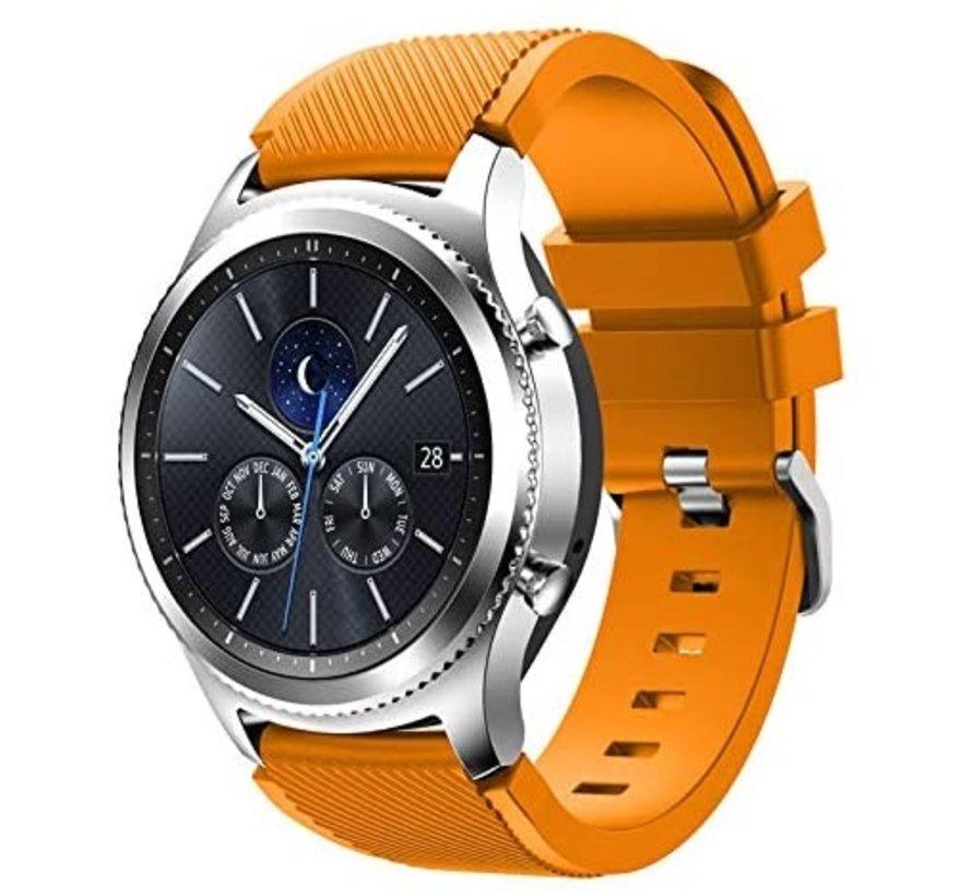 Samsung Gear S3 siliconen bandje (oranje)