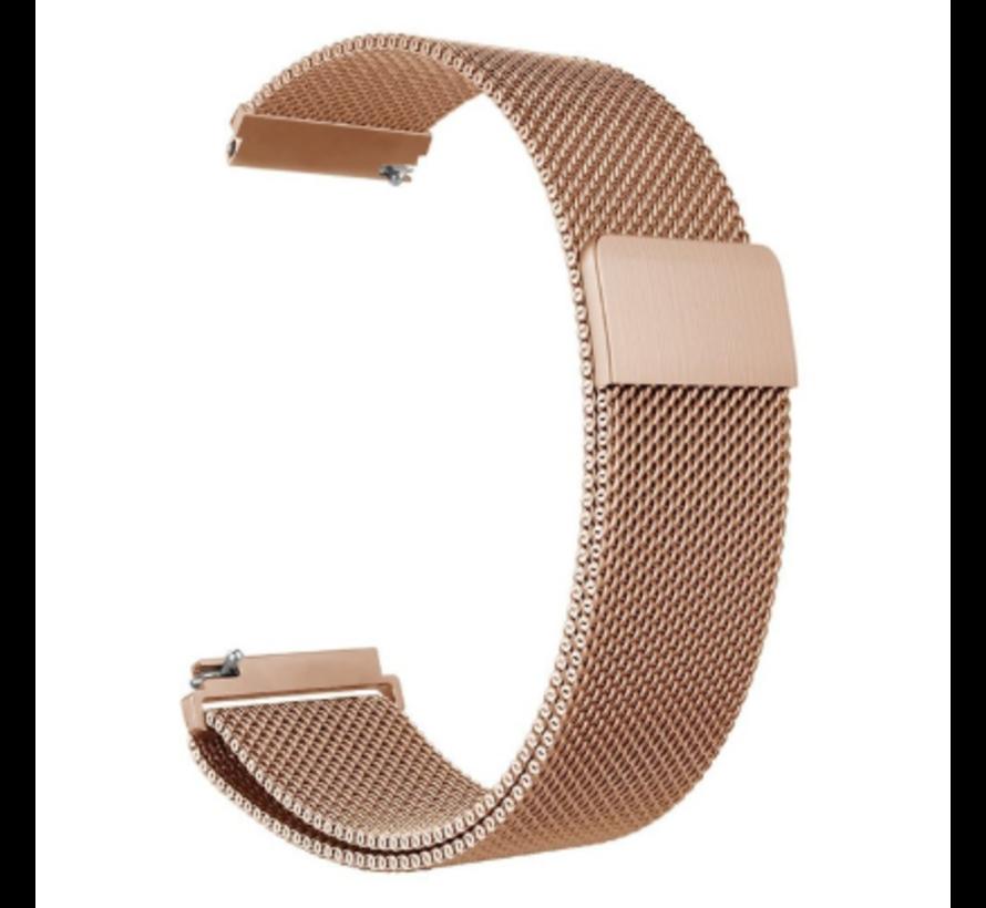 Huawei Watch GT Milanees bandje (rosé goud)