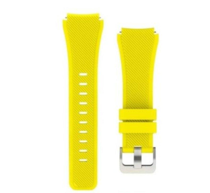 Garmin Vivoactive 3 silicone band (geel)