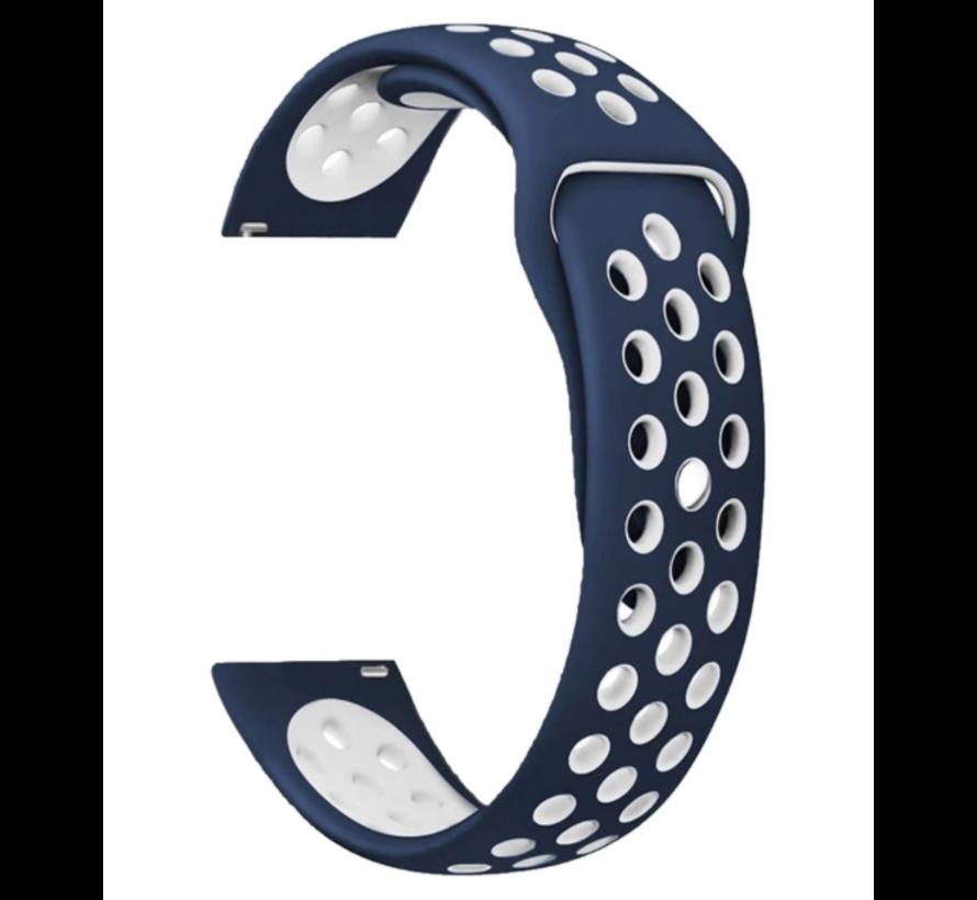 Garmin Vivoactive 3 sport bandje (blauw/wit)