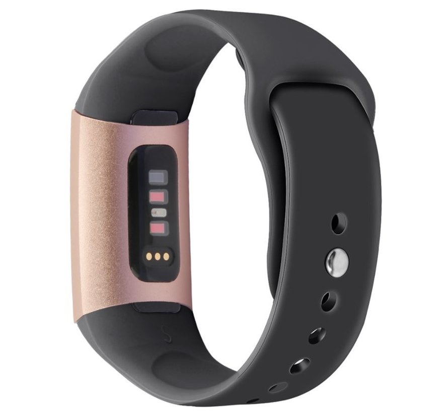 Fitbit Charge 3 sport band (zwart)