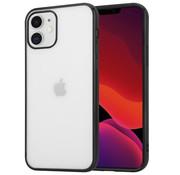 ShieldCase® Metallic bumper case iPhone 12 Mini - 5.4 inch (zwart)