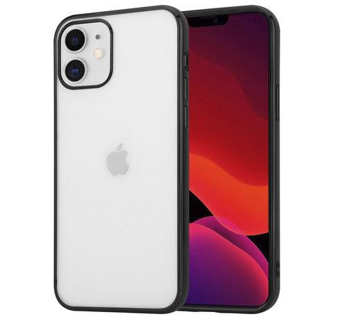 ShieldCase® ShieldCase Metallic bumper case iPhone 12 Mini - 5.4 inch (zwart)