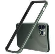 ShieldCase® iPhone 11 Pro Max metalen bumper case (groen)