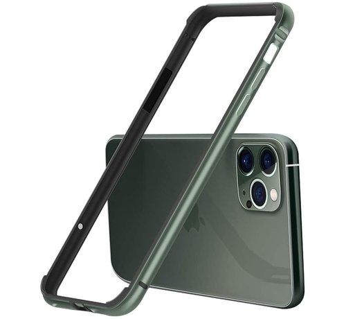ShieldCase® ShieldCase iPhone 11 Pro Max metalen bumper case (groen)