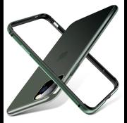 ShieldCase® iPhone 11 Pro metalen bumper case (groen)