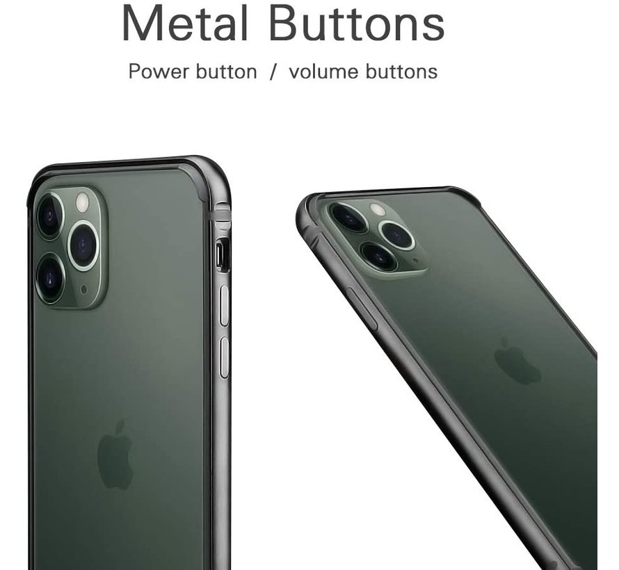 ShieldCase iPhone 11 Pro metalen bumper case (groen)