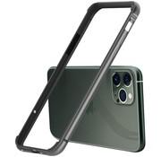 ShieldCase® iPhone 11 Pro Max metalen bumper case (zwart)