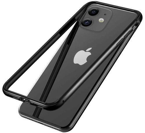 ShieldCase® ShieldCase iPhone 11 metalen bumper case (zwart)