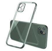 ShieldCase® iPhone 11 Pro vierkante metallic case (donkergroen)