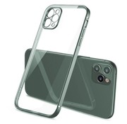 ShieldCase® iPhone 11 Pro Max vierkante metallic case (donkergroen)