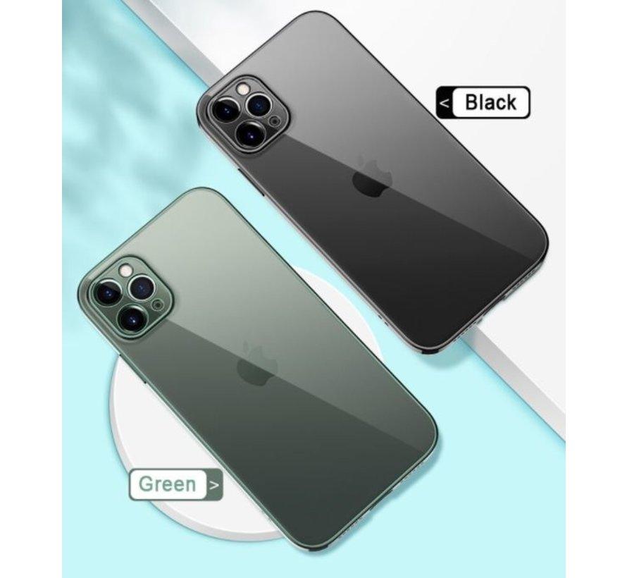 ShieldCase iPhone 11 Pro Max vierkante metallic case (donkergroen)