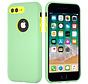 ShieldCase dubbellaags siliconen hoesje iPhone 8 Plus / 7 Plus (Lichtgroen-geel)