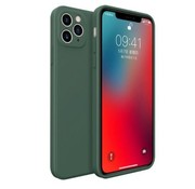 ShieldCase® iPhone 11 Pro Max vierkante silicone case (donkergroen)