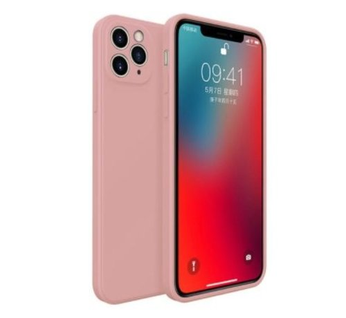 ShieldCase® ShieldCase iPhone 11 Pro vierkante silicone case (roze)