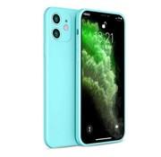 ShieldCase® iPhone 11 vierkante silicone case (aqua)