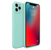 ShieldCase® iPhone 11 Pro vierkante silicone case (aqua)