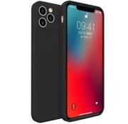 ShieldCase® iPhone 11 Pro Max vierkante silicone case (zwart)