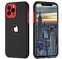 ShieldCase dubbellaags siliconen hoesje iPhone 11 Pro Max (zwart-rood)