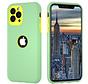 ShieldCase dubbellaags siliconen hoesje iPhone 11 Pro Max (lichtgroen-geel)