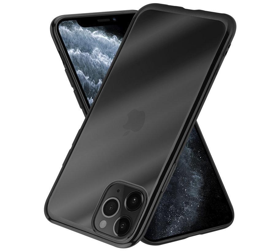 ShieldCase Metallic bumper case iPhone 12 Pro Max - 6.7 inch (zwart)