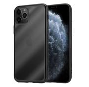 ShieldCase® Metallic bumper case iPhone 12 Pro Max - 6.7 inch (zwart)