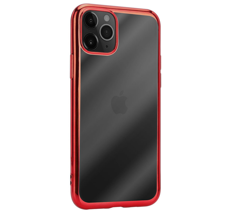 ShieldCase Metallic bumper case iPhone 12 Pro Max - 6.7 inch (rood)