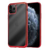 ShieldCase® Metallic bumper case iPhone 12 Pro Max - 6.7 inch (rood)