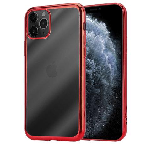ShieldCase® ShieldCase Metallic bumper case iPhone 12 Pro Max - 6.7 inch (rood)