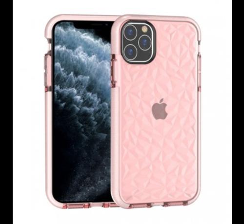 ShieldCase® ShieldCase diamanten case iPhone 12 Pro Max - 6.7 inch (roze)