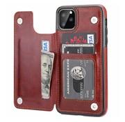 ShieldCase® Wallet case iPhone 12 Pro Max - 6.7 inch (bruin)