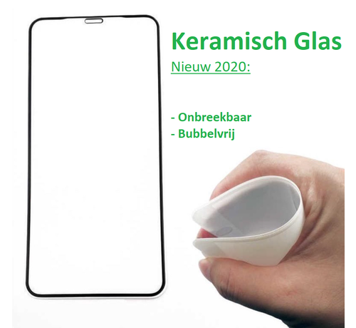 ShieldCase® ShieldCase iPhone X / Xs keramisch glas screen protector