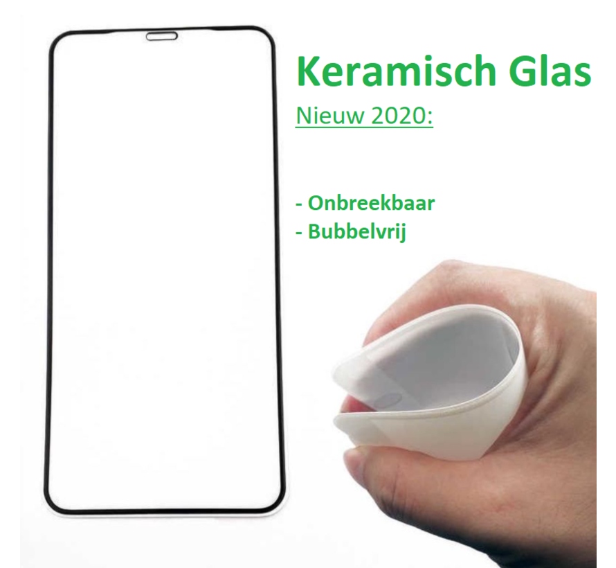 ShieldCase iPhone Xs Max keramisch glas screen protector