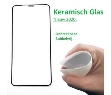 ShieldCase® iPhone SE 2020 keramisch glas screen protector