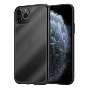 ShieldCase® Metallic bumper case iPhone 12 Pro - 6.1 inch (zwart)